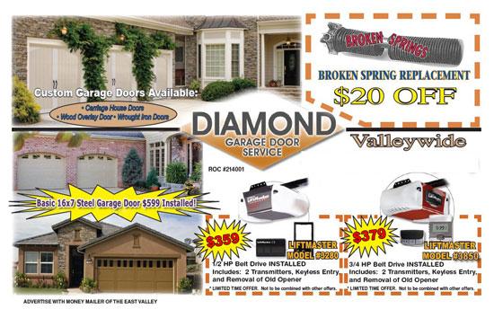 Diamond Garage Door Specials Diamond Garage Door