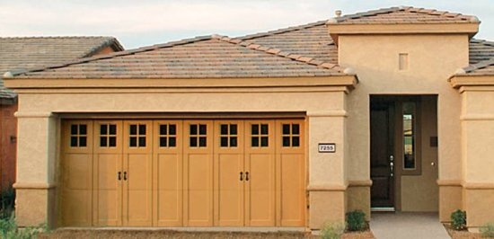Beautiful Carriage House Doors